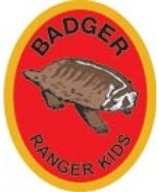 Ranger Kids Advancement Patch/ Badger