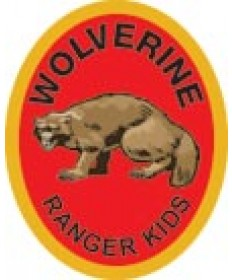 Ranger Kids Trail Patch / Wolverine