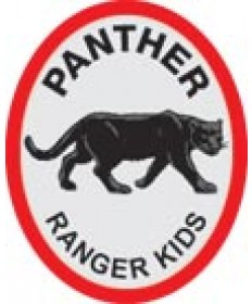 Ranger Kids Advancemnet Patch/ Panther