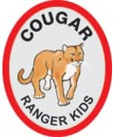 Ranger Kids Trail Patch/ Cougar