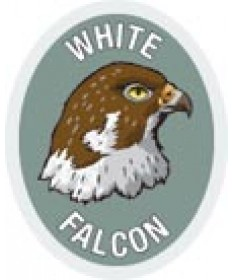 DR Adv Patch/White Falcon