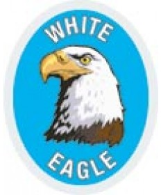 DR Adv Patch/ White Eagle