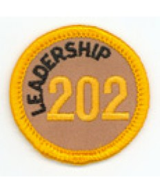 Leadership 202 Merit Patch (Gold)