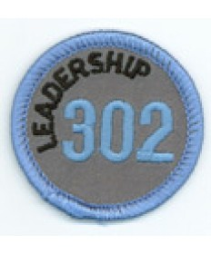 Leadership 302 Merit Patch (Blue)