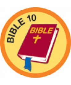 Bible Merit #10-Orange