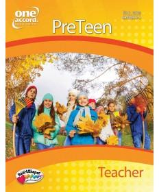 PreTeen Teacher / Fall