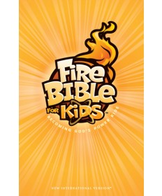 Fire Bible for Kids Paperback NKJV