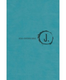 Jesus-Centered/NLT/Turquoise Imitation Leather