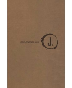Jesus-Centered/NLT/Saddle Imitation Leather