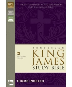 King James Study Bible Indexed