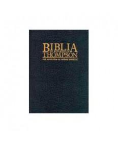 Biblia de Referencia Thompson Piel Negro Índice