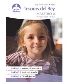 Principiantes: Tesoros Del Rey-Incluye Guía del Maestro y Visuales Septiembre - Febrero Edades 5 y 6