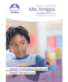 Primarios: Mis-Amigos-Incluye Guía del Maestro y Visuales Septiembre - Febrero Edades 7 - 9