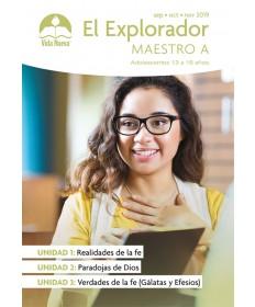 Adolescentes: El Explorador-Guía del Maestro Septiembre - Febrero