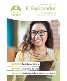 Adolescentes: El Explorador-Alumno Septiembre - Febrero