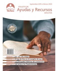 Adulto: Folleto de Ayudas y Recursos Material de apoyo para el maestro de adultos Septiembre - Febrero