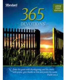 365 Devotions® Large Print Edition—2014