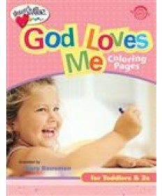 God Loves Me Coloring Pages