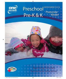 Preschool / Pre-K & K Teaching Pictures Winter