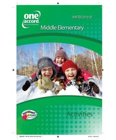 Middle Elementary Activities / Winter