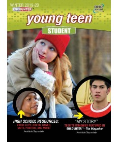 Young Teen Student / Winter