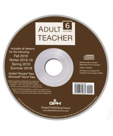 Adult Teacher Volume 6 CD-ROM 2018-2019