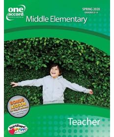 Middle Elementary Teacher / Spring