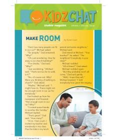 Kidz Chat (take-home paper) 5/pkg.