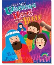 Undercover Heroes of the Bible: Ages 2&3