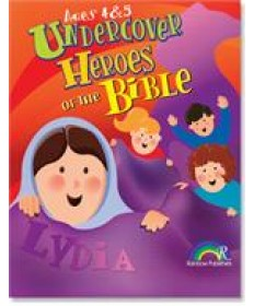 Undercover Heroes of the Bible: Ages 4&5