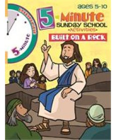 5 Minute Sunday School Activities - Built on a Rock