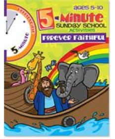 5 Minute Sunday School Activities - Forever Faithful