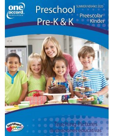 Pre-K & K Teaching Pictures /Summer