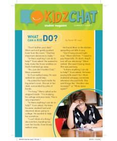 Kidz Chat (take-home paper) 5/pkg