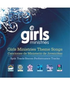 Girls Ministries Theme Songs CD