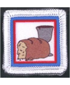 Stars Unit Badges. Holy Communion