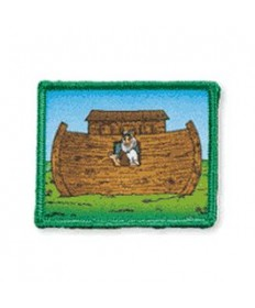 Rainbows Noah's Ark Badge