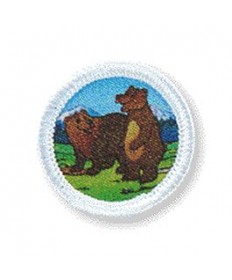 Rainbows Unit Badges. Bears
