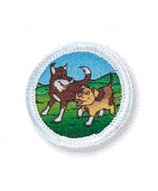Rainbows Unit Badges. Dogs