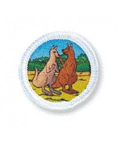 Rainbows Unit Badges. Kangaroos