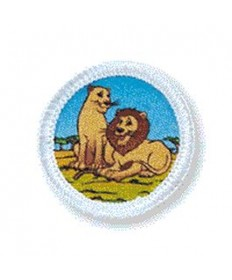 Rainbows Unit Badges. Lions