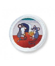 Rainbows Unit Badges. Mice