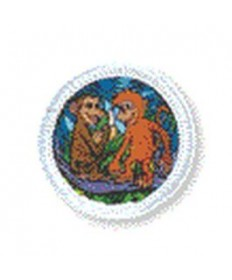 Rainbows Unit Badges. Monkeys