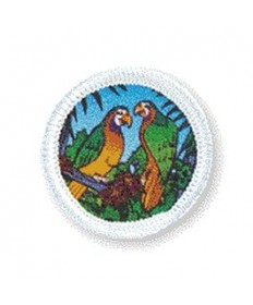 Rainbows Unit Badges. Parrots