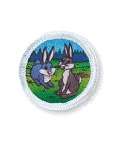 Rainbows Unit Badges. Rabbits