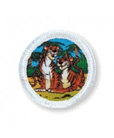 Rainbows Unit Badges. Tigers