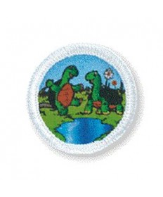 Rainbows Unit Badges. Turtles