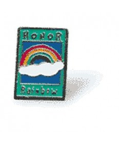 Honor Rainbows Pin