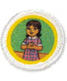 Daisies Unit Badges. Trusting