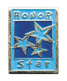 Honor Stars Pin